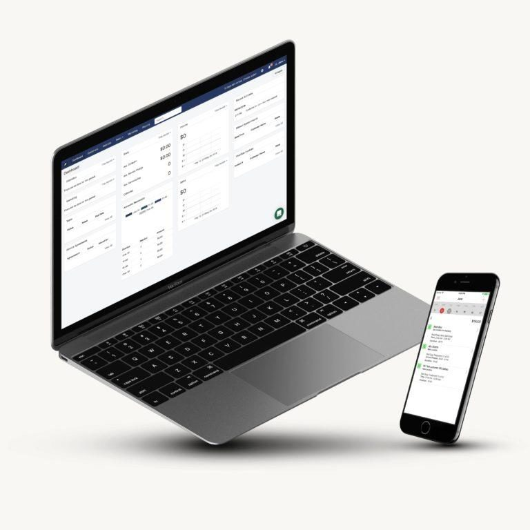 Fieldwork Field Service Management Software with Apps for Macbook and iPhone
